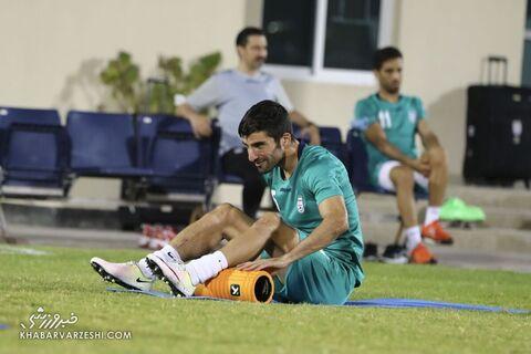 میلاد محمدی؛ تمرین تیم ملی ایران در بحرین (23 خرداد 1400)