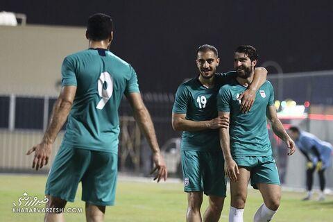 کریم انصاریفرد و مجید حسینی؛ تمرین تیم ملی ایران در بحرین (23 خرداد 1400)