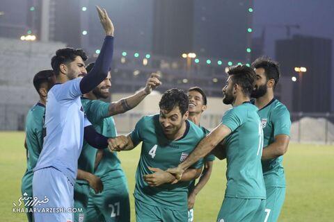 شجاع خلیلزاده؛ تمرین تیم ملی ایران در بحرین (23 خرداد 1400)