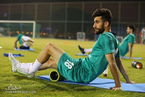 علی قلیزاده؛ تمرین تیم ملی ایران در بحرین (23 خرداد 1400)