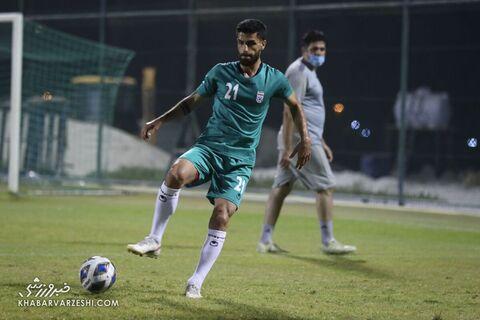 میلاد سرلک؛ تمرین تیم ملی ایران در بحرین (23 خرداد 1400)
