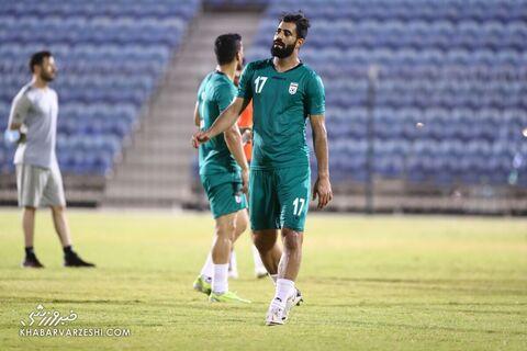 احمد نوراللهی؛ تمرین تیم ملی ایران در بحرین (23 خرداد 1400)