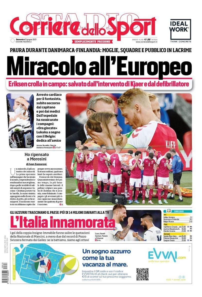 روزنامه کوریره| معجزه در یورو