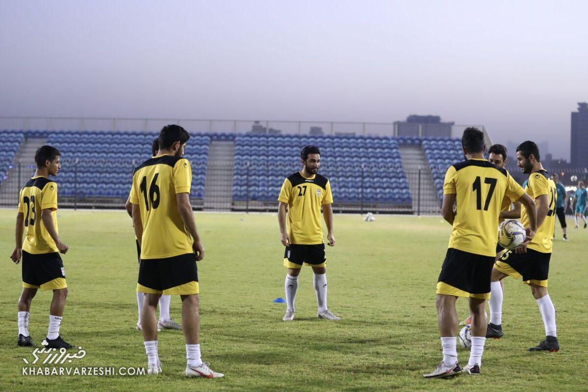 تیم ملی با یک تغییر به مصاف عراق میرود