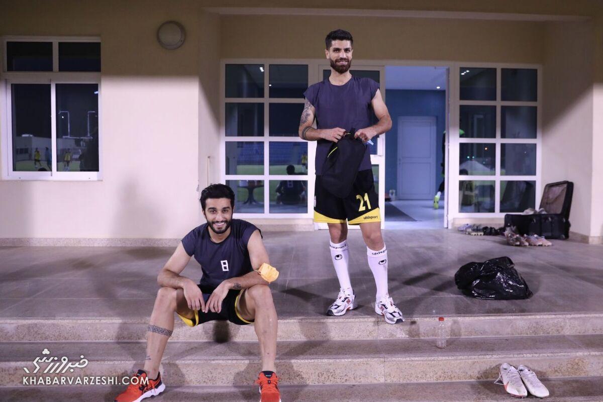 سیامک؛ مرد خندهروی تیم ملی در بحرین