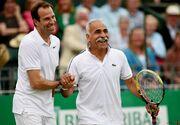 عکس| ملاقات اسطوره ایرانی با مرد شماره یک تنیس جهان