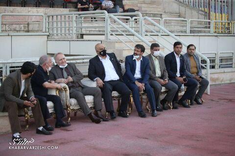 جعفر سمیعی، مجید صدری، علی پروین و حسین کلانی؛ پرسپولیس - پیکان