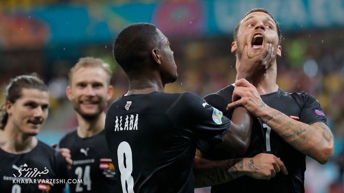 تصاویر جدیدترین جنجال در یورو؛ حمله به شادی گل نژادپرستانه/ از عصبانیت تا عذرخواهی