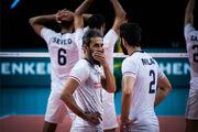 ترکیب تیم ملی والیبال ایران مقابل برزیل اعلام شد