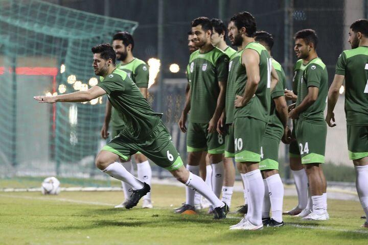تمرین تیم ملی ایران در بحرین (24 خرداد 1400)