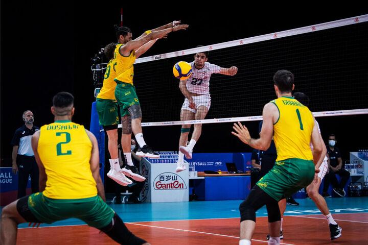 ایران - استرالیا؛ لیگ ملتهای والیبال