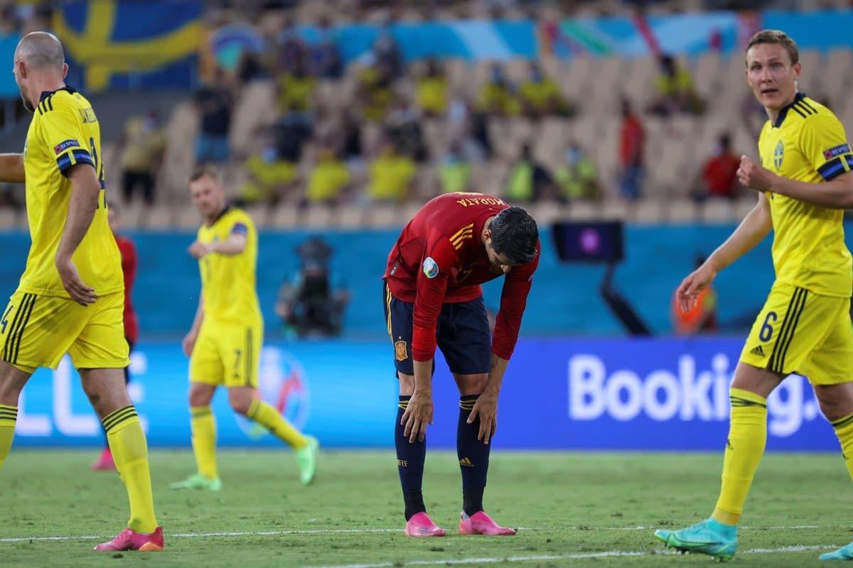 اسپانیا صفر - سوئد صفر/ توقف ماتادورها؛ اولین ۰-۰ جام