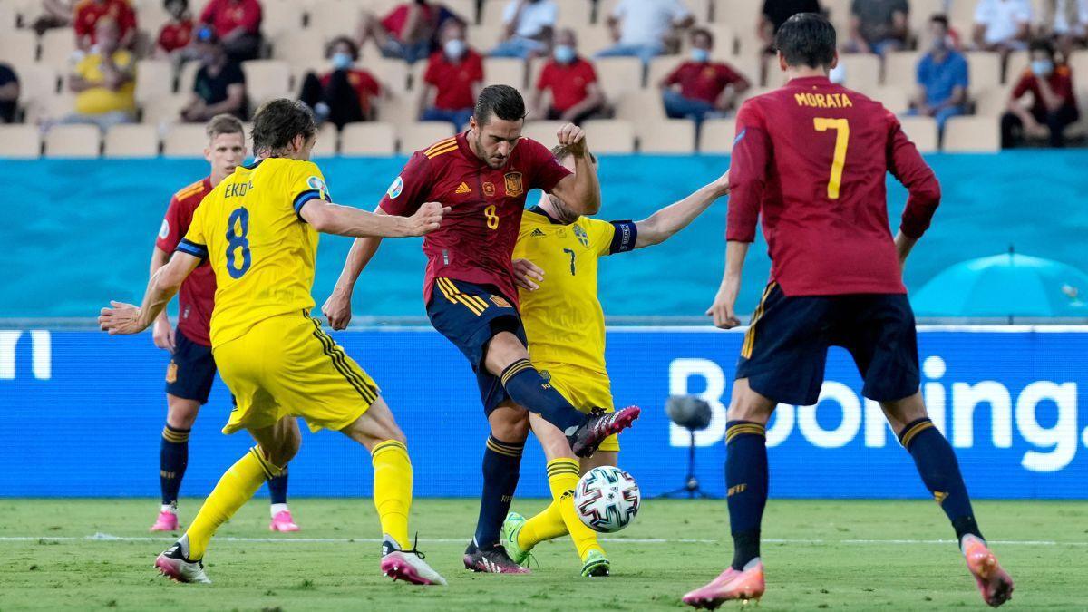 ویدیو| خلاصه بازی اسپانیا 0-0 سوئد