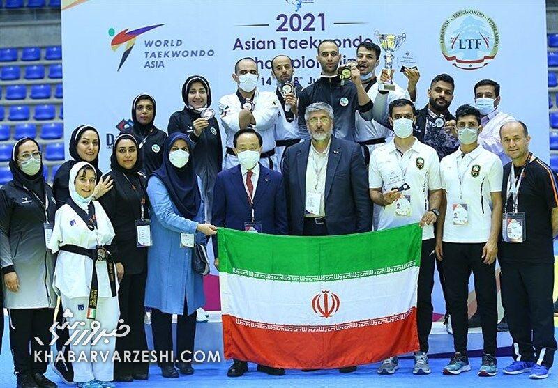 ایران با شایستگی قهرمان پاراتکواندو قهرمانی آسیا شد