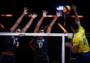 ویدیو| خلاصه والیبال ایران 1-3 برزیل