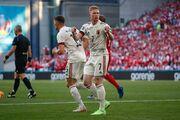 ویدیو| خلاصه بازی دانمارک ۱-۲ بلژیک