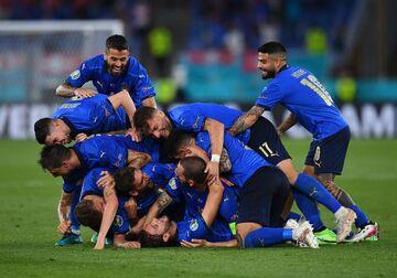 آمارهای فوقالعاده از تیم مانچو/ ایتالیا فرضیه همیشگی را خراب کرد