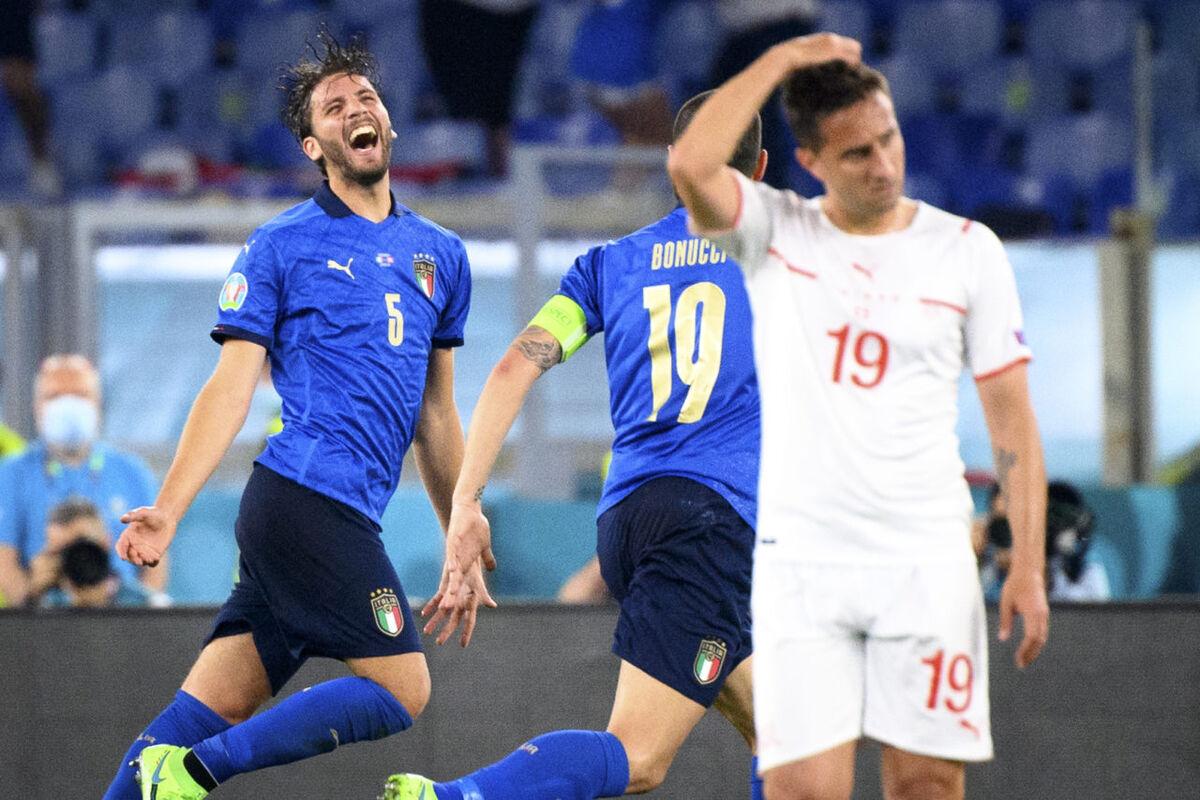 ویدیو  خلاصه بازی ایتالیا ۳-۰ سوئیس