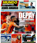 روزنامه موندو  دپای گل و یکهشتم