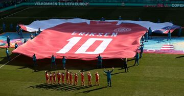 گزارش تصویری| روز اریکسن در یورو ۲۰۲۰/ از یاد کریستین تا جام قهرمانی بر فراز دستان بدل گولیت