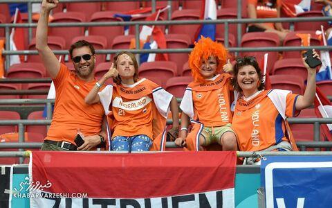 تماشاگران یورو 2020 (هلند - اتریش)