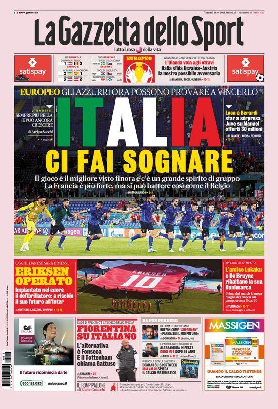 روزنامه گاتزتا  رؤیای علمی تخیلی ایتالیا