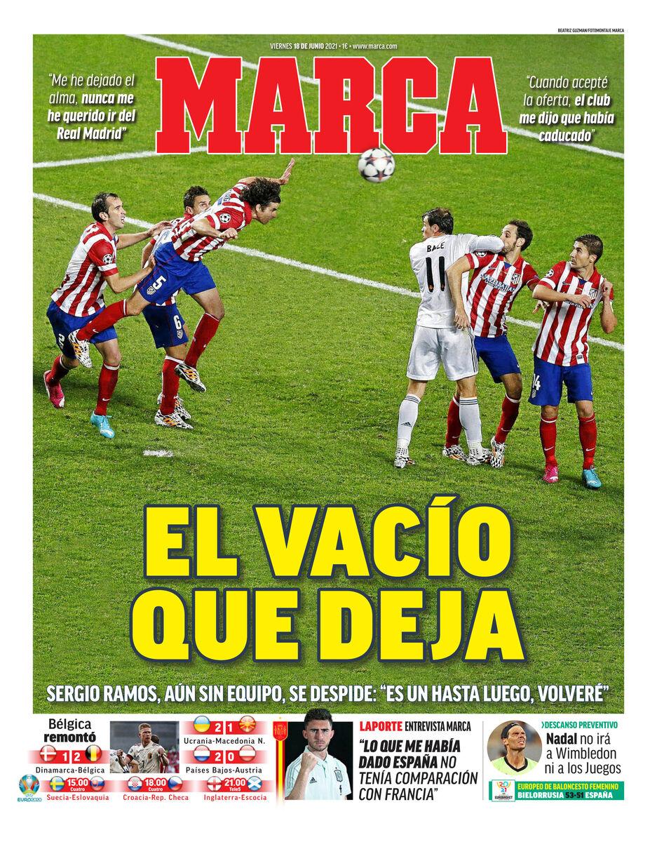روزنامه مارکا  جای خالی بعد از رفتن او
