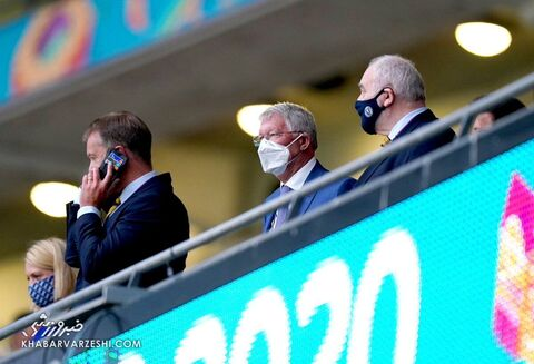 هواداران یورو 2020 (سرالکس فرگوسن؛ انگلیس - اسکاتلند)