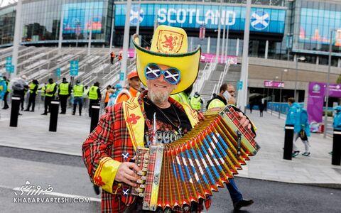 هواداران یورو 2020 (انگلیس - اسکاتلند)