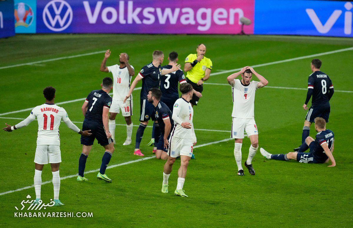 انگلیس صفر - اسکاتلند صفر/ نبرد بریتانیا نه برنده داشت و نه گل