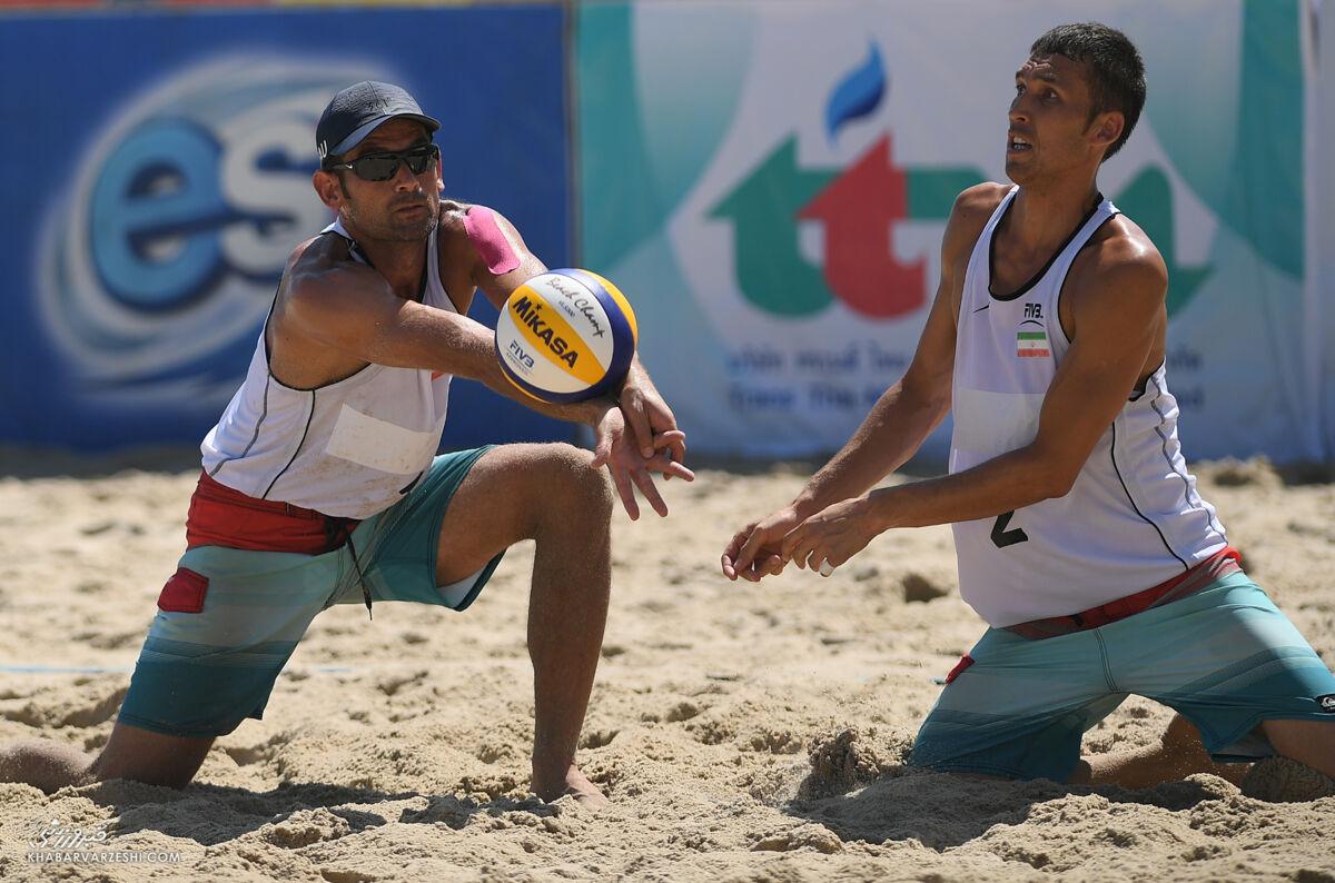 پرواز ساحلی بازان والیبال برای سهمیه المپیک