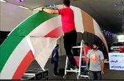 ویدیو  آماده سازی استیج قهرمانی سوپر جام