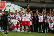 گزارش تصویری| جشن قهرمانی پرسپولیس در سوپرجام ۹۹