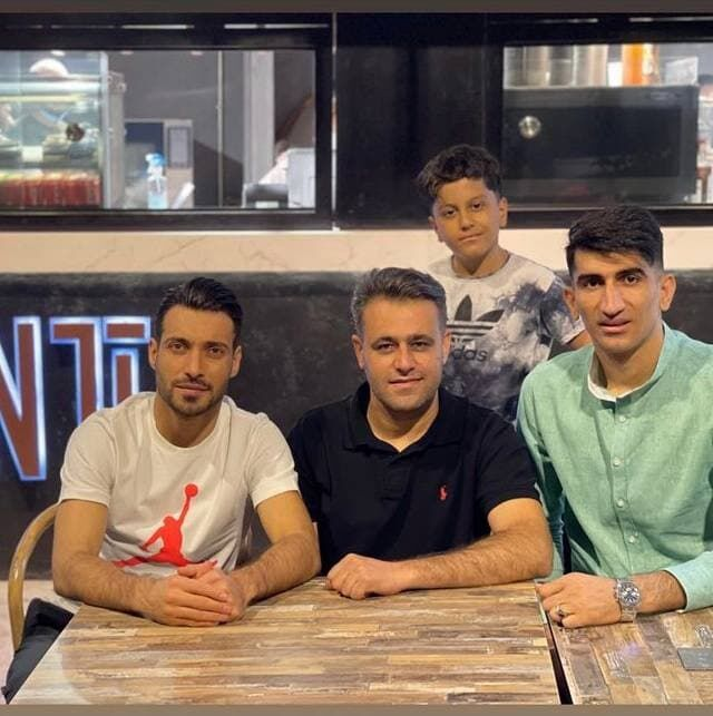 عکس| شام مشترک دو لژیونر پرسپولیسی در نیاوران