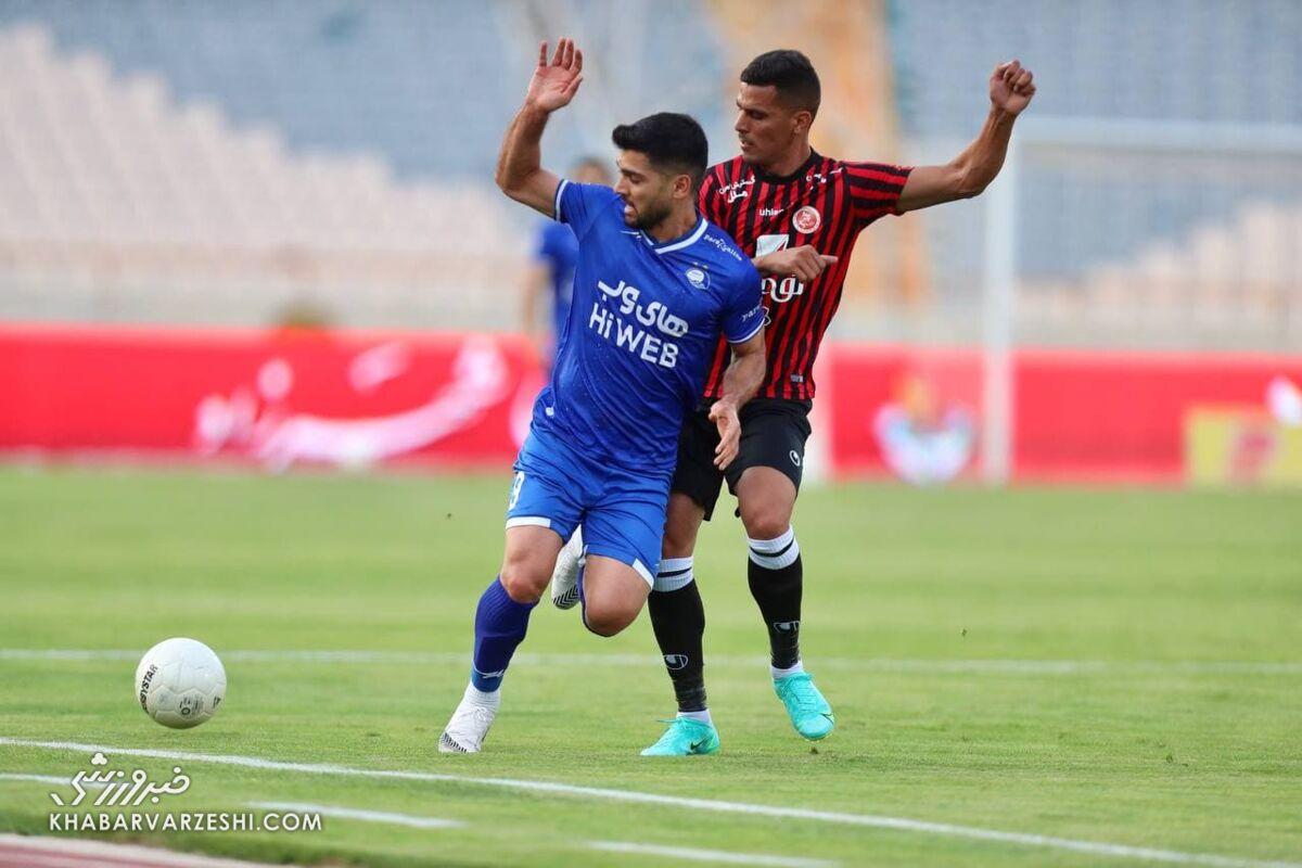 مهدیپور: در ۹ سالی که در فوتبالم، چنین شرایط نابسامانی ندیدم!