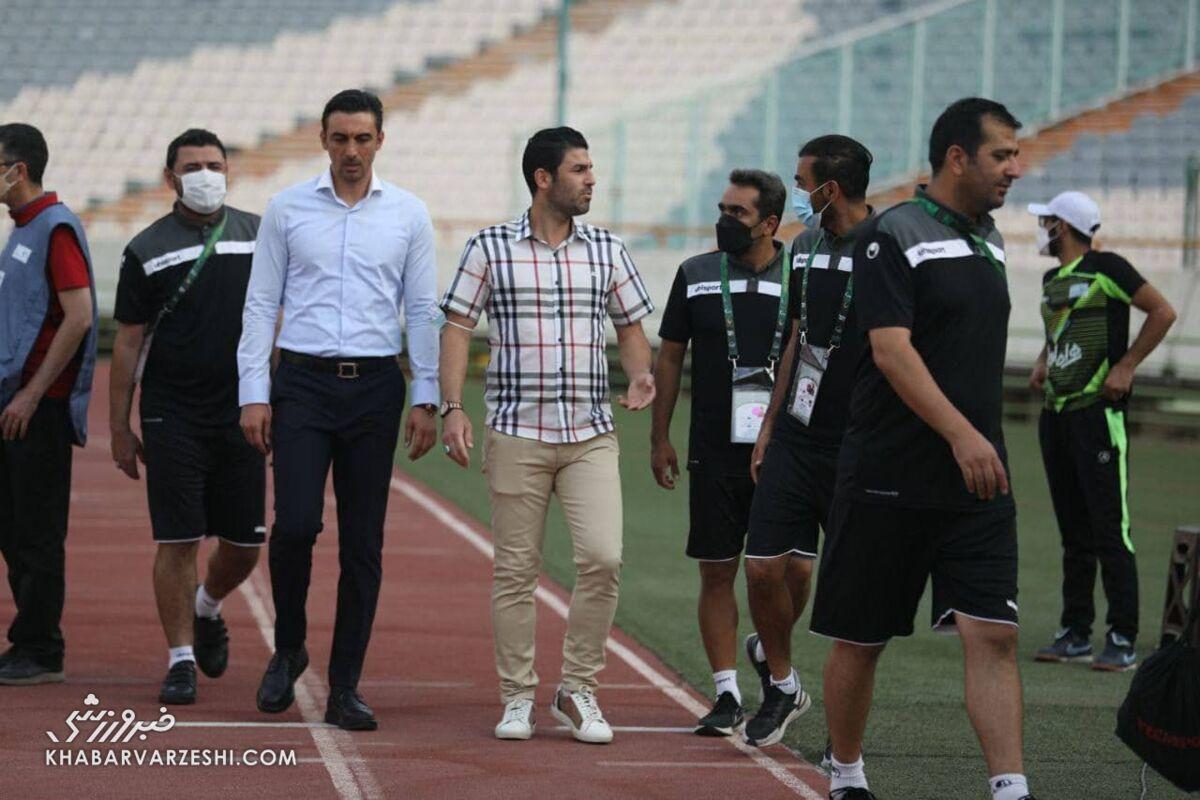مهدی رحمتی به بازیکن در آستانه بازداشت استقلال چه گفت؟