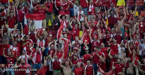 تماشاگران یورو 2020 (اوکراین - اتریش)