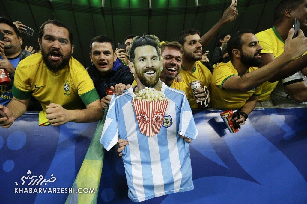 ۲۰ میلیون برزیلی مسی را فالو کردند!