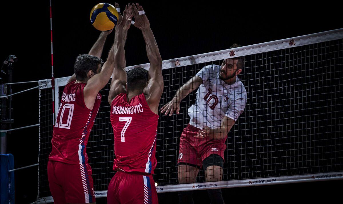 ویدیو| خلاصه والیبال کانادا ۳-۲ صربستان