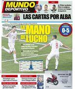 روزنامه موندو  دستان لوچو