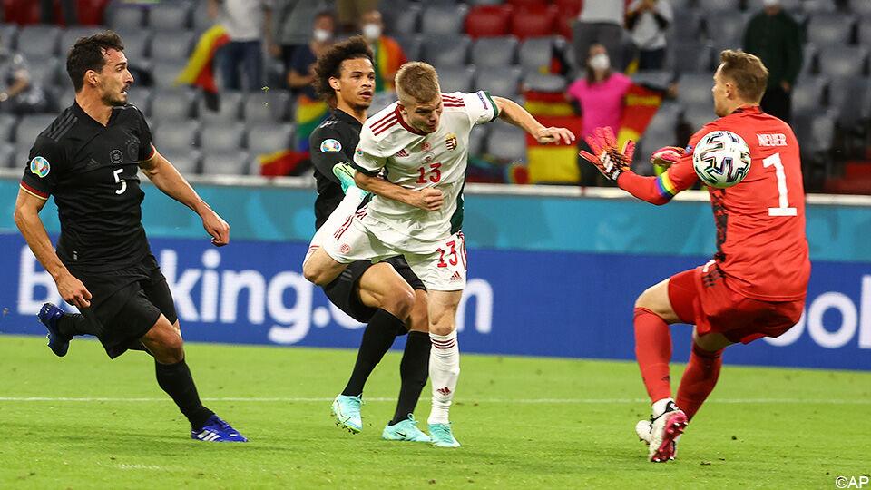 ویدیو  خلاصه بازی آلمان ۲-۲ مجارستان