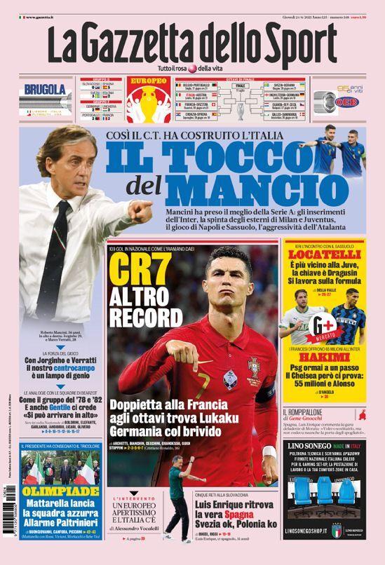 روزنامه گاتزتا| CR7 یک رکورد دیگر