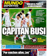 روزنامه موندو  کاپیتان بوسی