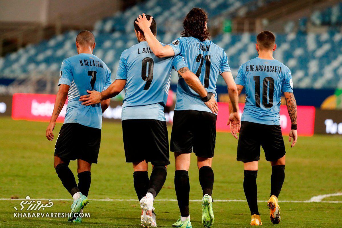 شکست عجیب شیلی و اولین برد اروگوئه