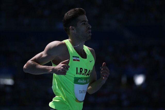 عکس  دیدار صمیمانه سریعترین مرد ایران با دومین مرد سریع دنیا