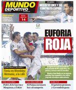 روزنامه موندو  سرخوشی قرمز