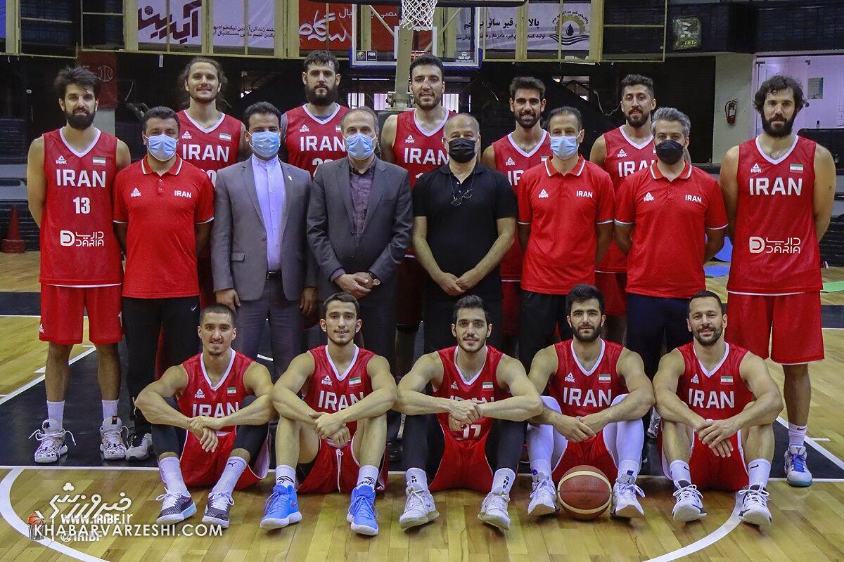 ایران تنها تیم المپیکی که بازیکنی در NBA ندارد