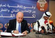 رئیس فدراسیون فوتبال لبنان: در کشور خود میزبان حریفانمان خواهیم بود