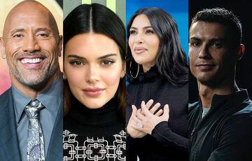 پردرآمدترین افراد جهان در اینستاگرام/ رونالدو در صدر