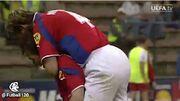 ویدیو  به بهانه تقابل چک و دانمارک؛ دیدار دو تیم در یورو ۲۰۰۰